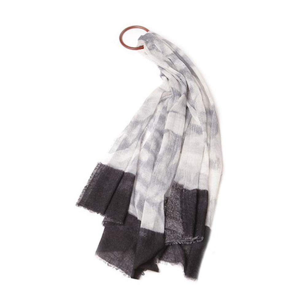 C Gquan Fashion Scarf Circle Yarn Women's Autumn Winter Long Thick Fluffy Scarf Warm Shawl Scarf Dualuse