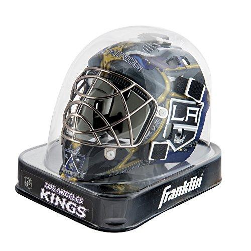 fan products of Franklin Sports NHL Los Angeles Kings League Logo Mini Goalie Mask
