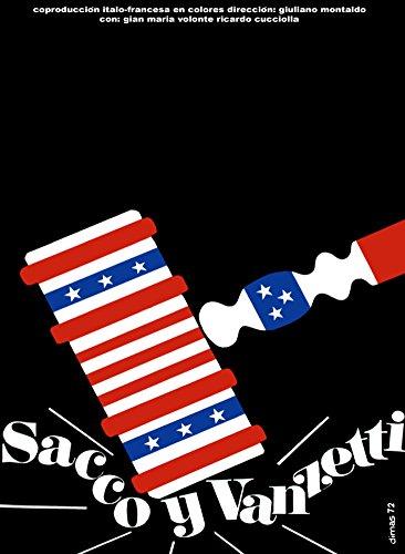 Political Decoration Poster.Activist Graphics.Sacco and Vanzetti.9083