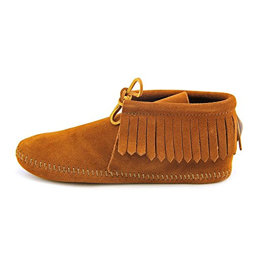 Boot Softsole Women's Brown Classic Minnetonka Fringe IwT7yt