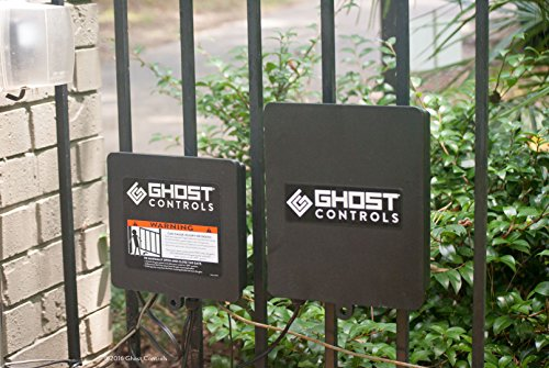 Ghost Controls DTP1XP Architectural Series Automatic Gate Opener Kit for Swing Gates Up to 1000 lbs. or 20 Feet (ft.) in Length (2. DTP1XP Single Solar Kit) by GHOST CONTROLS (Image #2)