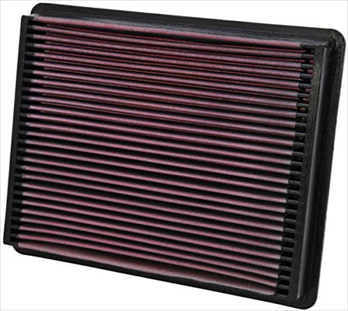 K&N engine air filter, washable and reusable:  1999-2017 Chevrolet/GMC/Cadillac Truck and SUV V8 - V8 Cadillac Engine