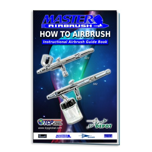 MASTER G22 Multi-purpose Airbrush Kit With Airbrush Depot Compressor and 24 color Set of Paints by Master Airbrush (Image #5)