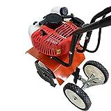 ONEPACK 2- Cycle Tiller Cultivator 52CC Gas Powered Garden Yard Grass Tiller Cultivator