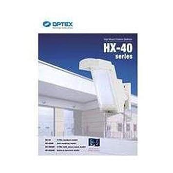 Optex HX-40RAM Sensor infrarrojo pasivo (PIR) Alámbrico Pared Blanco detector de movimiento