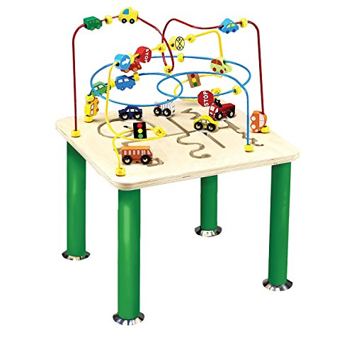 - Anatex Traffic Jam Rollercoaster Group Play Multi Activity Learning Fun Table With Metal Legs , Kid ,Toy , Hobbie , Nice Gift