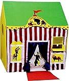 Mantavya Jumbo Size Circus Tent House for Kids (Green)