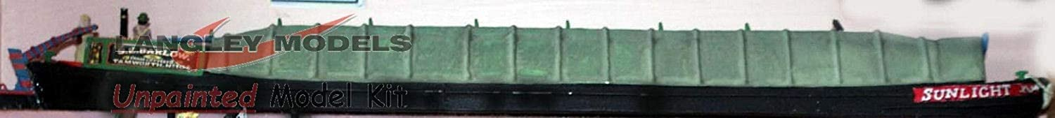 Canal Butty Boat Cover Tarpaulin Barge Narrow F5a UNPAINTED OO Scale Models Kit