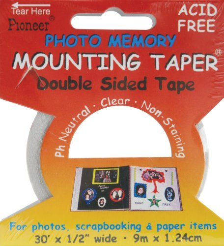 (12 PACK PERMANENT MOUNTING TAPER 30ft Papercraft, Scrapbooking (Source Book))