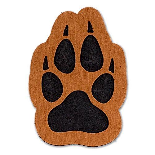 ToeJamR Stomp Pad - Wolf Paw - Brown (Canada Stomp Pad)