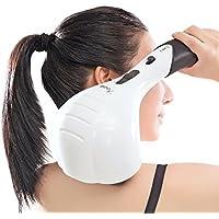 VIKTOR JURGEN Handheld Back Massager - Double Head Electric Full Body Massager - Deep Tissue Percussion Massage for Muscles, Head, Neck, Shoulder, Back, Leg and Foot -Best Gifts for Women/Men