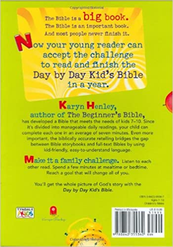 Day by Day Kid's Bible: The Bible for Young Readers (Tyndale Kids ...