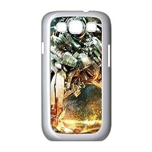 Samsung Galaxy S3 9300 Cell Phone Case White Transformers Robot War I9F8CS