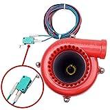 acura turbo kit - Red Black Car Fake Turbo Electronic Hooter Dump Blow Off Valve BOV Analog Sound-Simulator Kit For Acura Honda Lexus Nissan Subaru Toyota