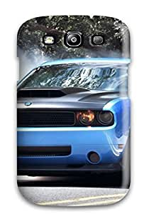 High-quality Durable Protection Case For Galaxy S3(smoke Coming Out Blue Car Tires) by icecream design