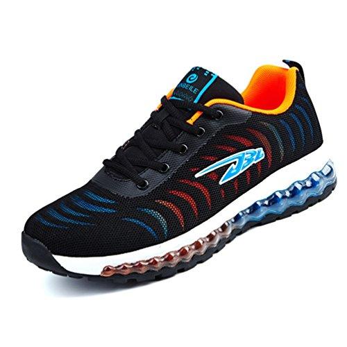 [XINXIKEJI]メンズ ランニングシューズ スニーカー 耐摩耗性 衝撃吸収 ウォーキングシューズ トレーニング ジョギング マラソンシューズ 通気性 軽量 滑り止め アウトドア スポーツシューズ カッコイイ 男性用 全3色