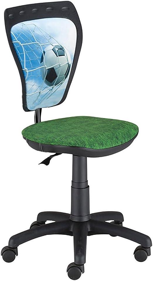 Fußball Rasen Motiv Dreh Stuhl Kinder Zimmer Schreibtisch Jugend einstellbar