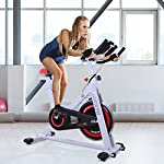 homcom-Cyclette-Professionale-per-Allenamento-Fitness-da-Casa-Altezza-Regolabile-Max-120kg-Acciaio-107–48–100cm