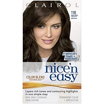 clairol nice n easy hair color natural medium brown - Clairol Nice And Easy Colors