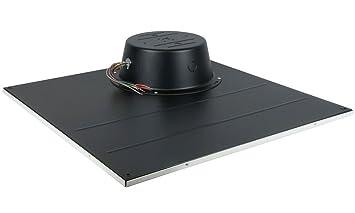 Lowell LT2810 72BB Ceiling Tile Speaker 15W Driver 2x2 In. Value Model Dual  Voltage