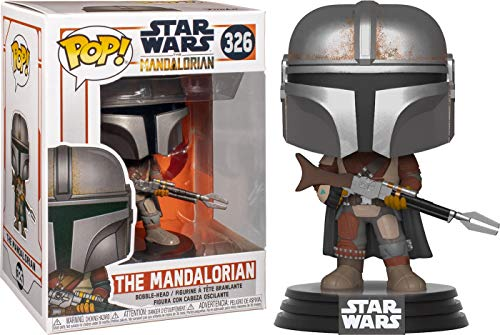 Funko Pop! Star Wars: Mandalorian - The Mandalorian,Multicolor,3.75 inches