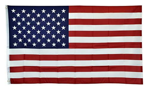 3x5 American Flag - 3'x5' USA Stars and Stripes Polyester US Flag - Traditional Size Flag