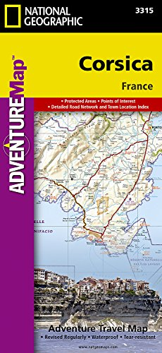 Corsica [France] (National Geographic Adventure Map)