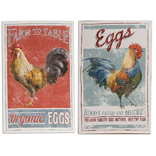 (Kay Dee Designs 2 Piece Farm Nostalgia Kitchen Bundle - 2 Tea Towels)