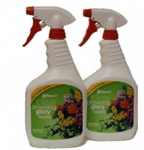 Crowning Glory - Two 32oz spray bottles (Floral Fertilizer)