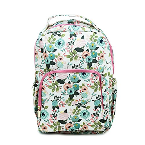 Peach Floral 10 x 18 Inch Reinforced and Water Resistant - Aunt Peaches