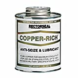 Rectorseal 72851 8-Ounce Copper-Rich Antiseize And Lubricant