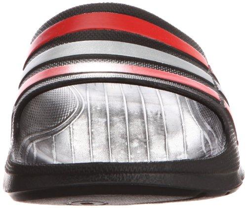adidas G46455 - Chanclas, unisex core black/core energy s12/silver met.
