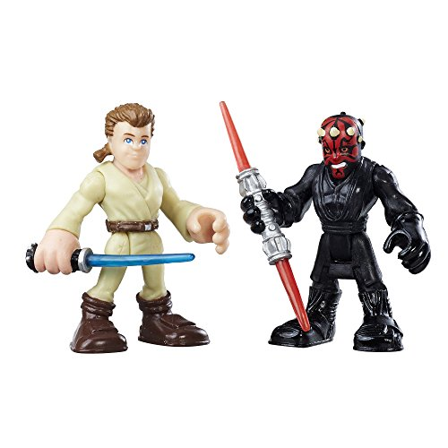 Playskool Heroes Star Wars Galactic Heroes Obi-Wan Kenobi and Darth Maul ()