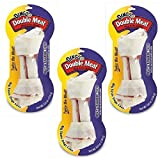 (3 Pack) Dingo Double Meat Bones for Dogs – Large