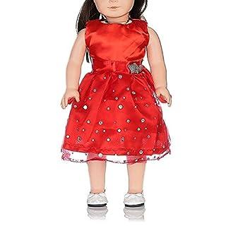 Vestito per Americana Bambola[3PCS],Beetest® Nozze Abiti con Paillettes per 18 pollici American Girl Bambole Accessori Tuta da Bambola (Blu) Beetest® Nozze Abiti con Paillettes per 18 pollici American Girl Bambole Accessori Tuta da Bambola (Blu)