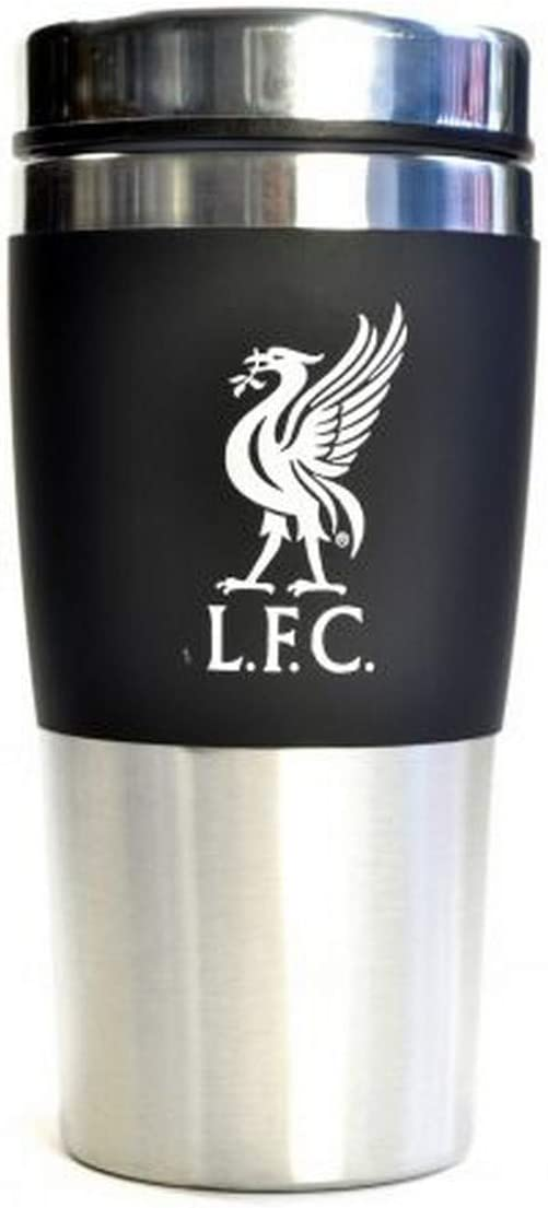 Liverpool FC Executive Mug de Voyage sans poign/ée en Acier Inoxydable