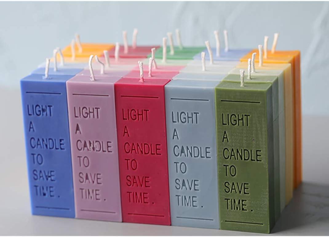 Candle Mold iSuperb 2 Kerze Silikonform Epoxidharz Formen Klar Gie/ßenform f/ür Resin Candle Seife DIY Handwerk Werkzeuge