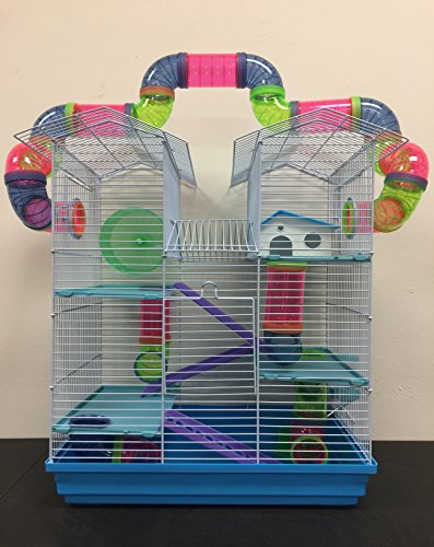 New Large Twin Tower Habitat Hamster Rodent Gerbil Mouse Mice