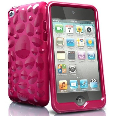Iskin Ipod Case (iSkin Pebble Case for iPod Touch 4G (Cosmo Pink))