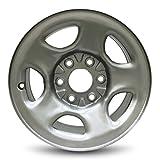 IWS Series 05128 16''x6.5'' 6x139.7 – 28mm Chevy Astro (03-05) Express (03-08) Silverado (99-05) GMC Safari (03-05) Savana (03-08) Sierra (99-05) 16x6.5 Inch 6 Lug Silver Replacement Steel Wheel Rim