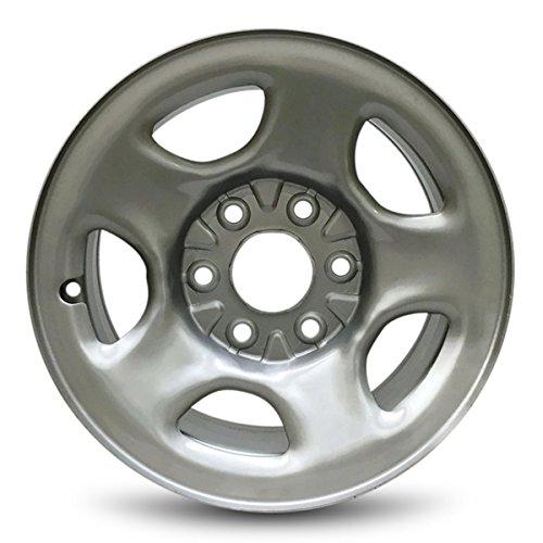 IWS Series 05128 16''x6.5'' 6x139.7 – 28mm Chevy Astro (03-05) Express (03-08) Silverado (99-05) GMC Safari (03-05) Savana (03-08) Sierra (99-05) 16x6.5 Inch 6 Lug Silver Replacement Steel Wheel Rim by Innovative Wheel Solutions (Image #3)