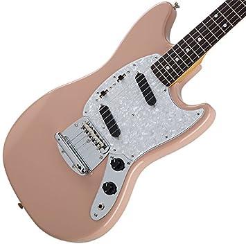 Fender tradicional 70s Mustang (color rosa Flamenco) [fabricado en Japón] (importación de Japón): Amazon.es: Instrumentos musicales