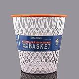 Spalding Basketball Net Crunch Time Nba Design Wastebasket White One Size