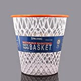 "Spalding Basketball Net ""Crunch Time"" NBA Design Spalding Wastebasket White One Size (Kitchen)"