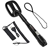 Deteknix Scuba Tector Underwater Waterproof Metal Detector up to 200ft/60m With LED, Vibration and Audio Alerts with Rechargeable Long Lasting Battery