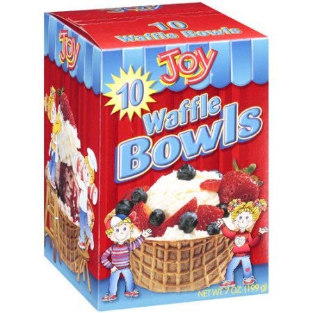 Joy, Waffle Bowls (Pack of 24) by Joy (Image #1)