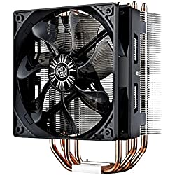 1 of Cooler Master Hyper 212 Evo (RR-212E-20PK-R2) CPU Cooler with PWM Fan, Four Direct Contact Heat Pipes