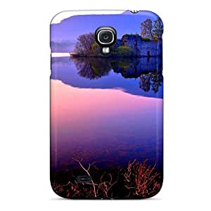 Hard Plastic Galaxy S4 Case Back Cover,hot The Ruins Of The Castle Case At Perfect Diy