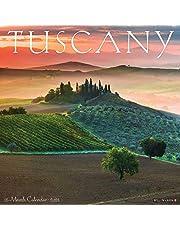 Tuscany 2021 Wall Calendar