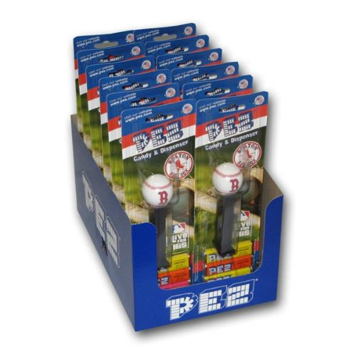 Mlb Candy - Pez Candy MLB Boston Red Sox Single Dispenser